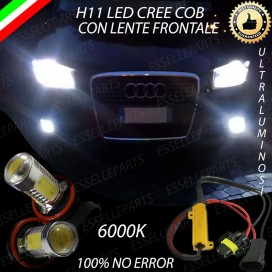 Luci Fendinebbia H11 LED 900 LUMEN AUDI A3 8P Restyling dal 2009 in poi