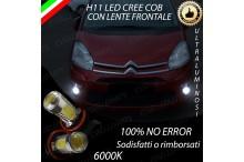 Luci Fendinebbia H11 LED CITROEN C4 PICASSO I