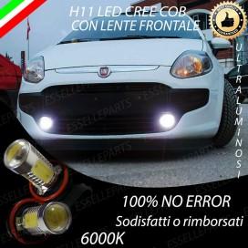Luci Fendinebbia H11 LED 900 LUMENFIATPUNTO EVO