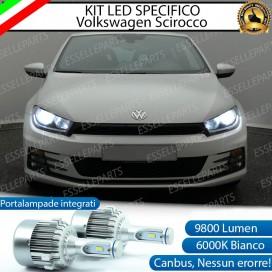 Kit Full LED H7 9800 LUMEN Anabbaglianti VW SCIROCCO