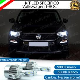 Kit Full LED H7 9800 LUMEN Anabbaglianti VW T-ROC
