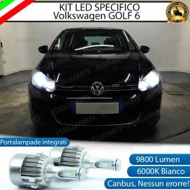 Kit Full LED H7 9800 LUMEN Anabbaglianti VW GOLF VI