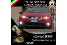 Luci Fendinebbia H11 LED CIVIC VIII