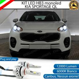 Kit Mono led coppia HB3 12000 LUMEN Anabbaglianti/Abbaglianti KIA SPORTAGE IV