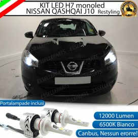 Kit Full LED H7 Monoled 12000 LUMEN NISSAN QASHQAI J10