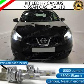 KitFull LED H7 8000 LUMEN AnabbagliantiNISSAN QASHQAI J10