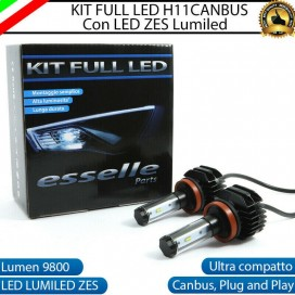 Kit Full LED Fendinebbia H11 9800 LUMEN per AUDI A6 C6