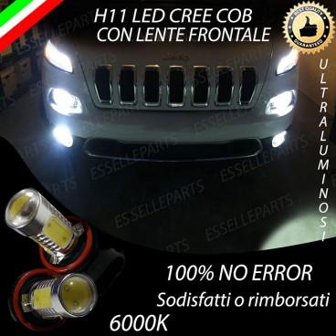 Luci Fendinebbia H11 LED CHEROKEE KL
