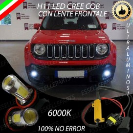 Luci Fendinebbia H11 LED 900 LUMEN JEEP RENEGADE