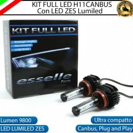 KitFull LEDFendinebbia H11 9800 LUMEN perCITROENDS4