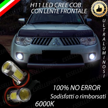 Luci Fendinebbia H11 LED PAJERO SPORT II