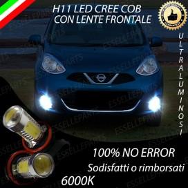 Luci Fendinebbia H11 LED 900 LUMENNISSANMICRA IV