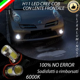 Luci Fendinebbia H11 LED 900 LUMENNISSANMICRA III