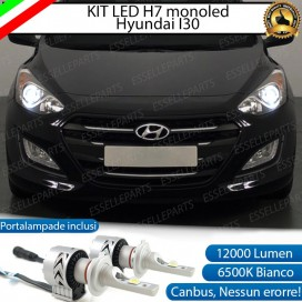 Kit Full LED H7 Monoled 12000 LUMEN HYUNDAI I30 II