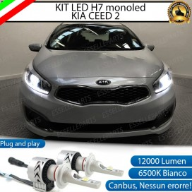 Kit Full LED H7 Monoled 12000 LUMEN KIA CEED  II