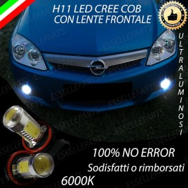 Luci Fendinebbia H11 LED 900 LUMEN OPEL TIGRA TWIN TOP