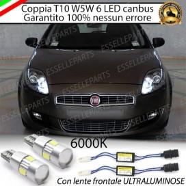 Luci posizione 6 LED Canbus FIAT CROMA