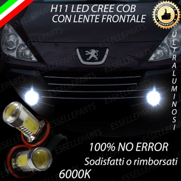 Per modelli restyling H11 LED PEUGEOT 307 RESTYLING