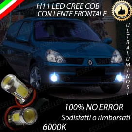 Luci Fendinebbia H11 LED 900 LUMENRENAULTCLIO II