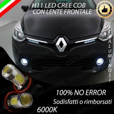 Luci Fendinebbia H11 LED RENAULT CLIO IV