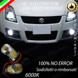 Luci Fendinebbia H11 LED 900 LUMEN SUZUKI SWIFT III