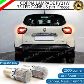 Coppia Frecce Posteriori PY21W 35 LED Canbus RENAULT CAPTUR