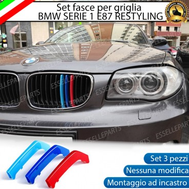 SET COVER PER CALANDRA BMW SERIE 1 RESTYLING