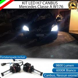 Kit Full LED H7 9800 LUMEN Anabbaglianti MERCEDES CLASSE A W176