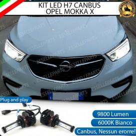 Kit Full LED H7 9800 LUMEN Anabbaglianti OPEL MOKKA X