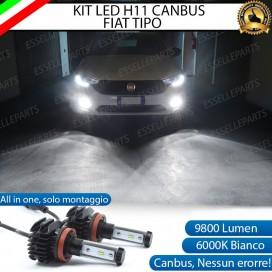 KitFull LEDFendinebbia H11 9800 LUMEN perFIATTIPO
