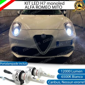 Kit Full LED H7 Monoled 12000 LUMEN ALFA ROMEO MITO
