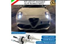 Kit Full LED H7 coppia lampade monoled ALFA ROMEO MITO
