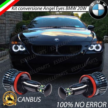 Luci Angel Eyes LED H8 SERIE 6 E63