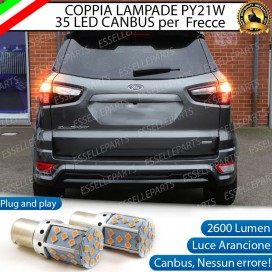 Lampade POSTERIORI PY21W BAU15S 35 LED Canbus FORD ECOSPORT II