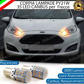 Coppia Frecce Anteriori PY21W 35 LED Canbus FORD FIESTA VI