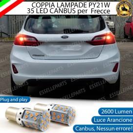 Coppia Frecce Posteriori PY21W 35 LED Canbus FORD FIESTA VII