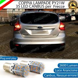 Coppia Frecce Posteriori PY21W 35 LED Canbus FORD FOCUS III