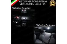 Led interni Basic Pack alfa giulietta canbus 6000k