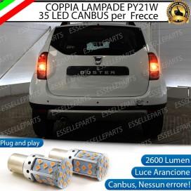 Coppia Frecce Posteriori PY21W 35 LED Canbus DACIA DUSTER RESTYLING