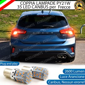Lampade POSTERIORI PY21W BAU15S 35 LED Canbus FORD FOCUS IV