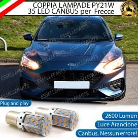 Coppia Frecce Anteriori PY21W 35 LED Canbus FORD FOCUS IV