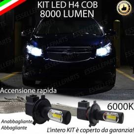 KitFull LED H4 Anabbaglianti/Abbaglianti 8000 LUMENCHEVROLETCRUZE