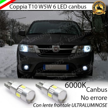 Fiat freemont luci di posizione led canbus 6000k