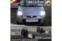 Anabbaglianti/abbaglianti KIT A LED CHEVROLET MATIZ
