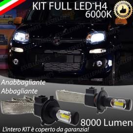 KitFull LED H4 Anabbaglianti/Abbaglianti 8000 LUMENFIATPANDA III