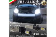 Anabbaglianti/abbaglianti KIT A LED QUBO