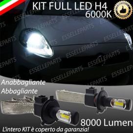 KitFull LED H4 Anabbaglianti/Abbaglianti 8000 LUMENFIATGRANDE PUNTO