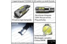 Luci posizione 10 LED Canbus 660 Lumen