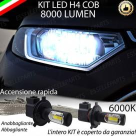 KitFull LED H4 Anabbaglianti/Abbaglianti 8000 LUMENFORDECOSPORT