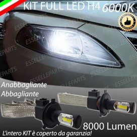 KitFull LED H4 Anabbaglianti/Abbaglianti 8000 LUMENLANCIAYPSILON II